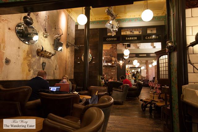 Interior of Coffee Barker