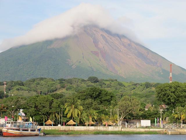 Concepcion, volcano climbing in Nicaragua