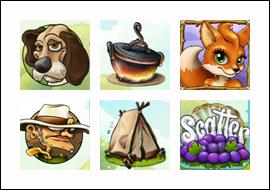 free Foxy Fortunes slot game symbols