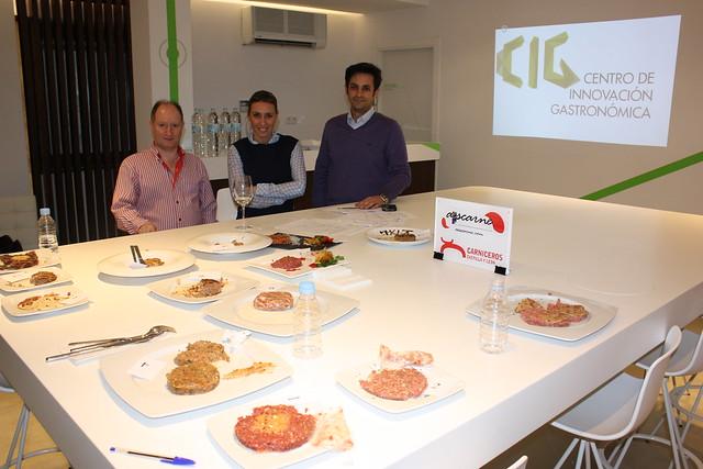 El jurado del Concurso Mejor Hamburguesa de Salamanca 2015