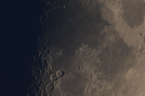 Moon details - 'Mares' with Theophilus, Cyrillus and Catharina :)