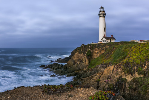 Pigeon Point Lighthouse by Geoff Livingston