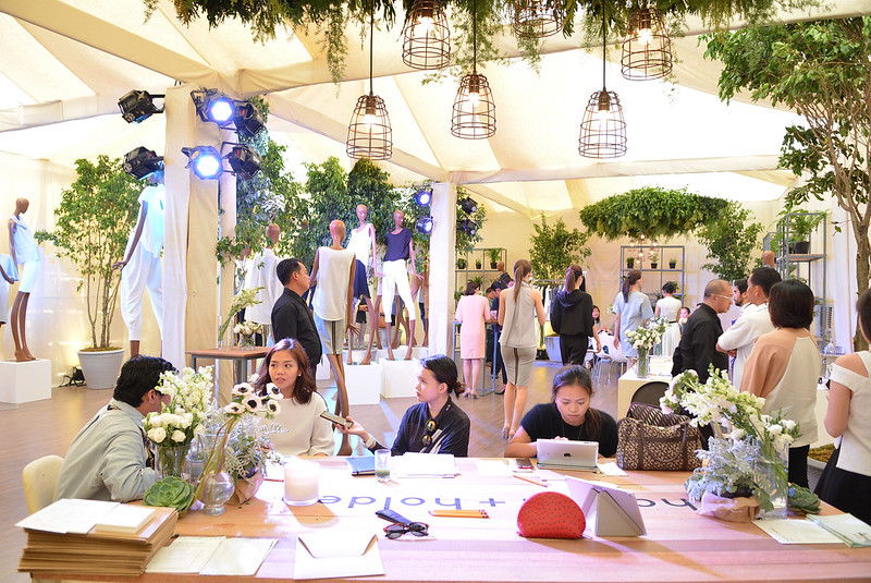 The Harlan Tent compliments the beauty of the BC collection