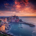 Vernazza Sunset, Cinque Terre (Italy) by Eric Rousset