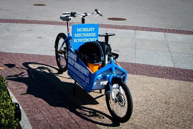 Mobilny Mechanik Rowerowy One More Bike Poznań