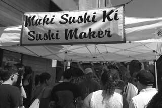 Cherry Blossom Festival - Maki sushi maker