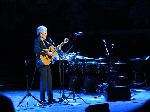 Joan Baez at the Palau de la Música, 19 March 2015