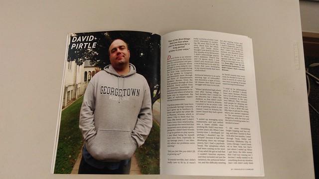 Photo of David Pirtle's profile in O'Brien's publication.