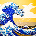 Lego, Hokusai Style by The_Kevster