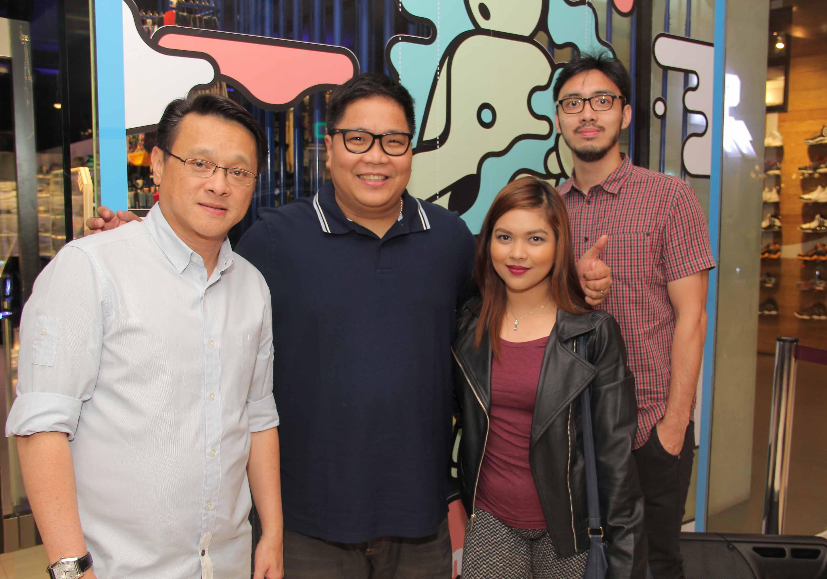 PGII's Managing Director Mr Jhun Uy, Celebrity Host Jugs Jugueta, Primer's Ann Mendoza & Pepe Cervero
