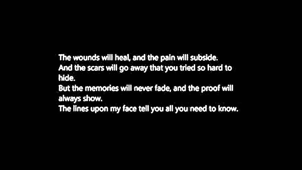 Speaking, self harm quotes