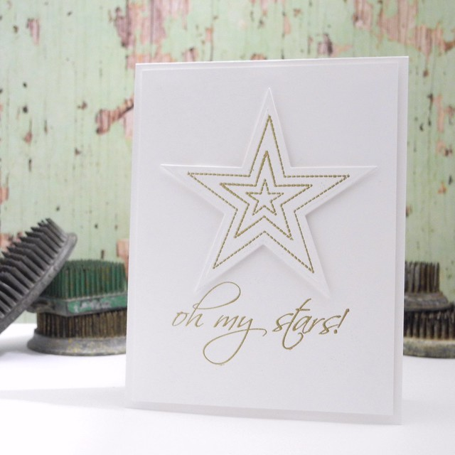 Oh, My Stars! by Jennifer Ingle @Jingle #cards #diy #papercrafts
