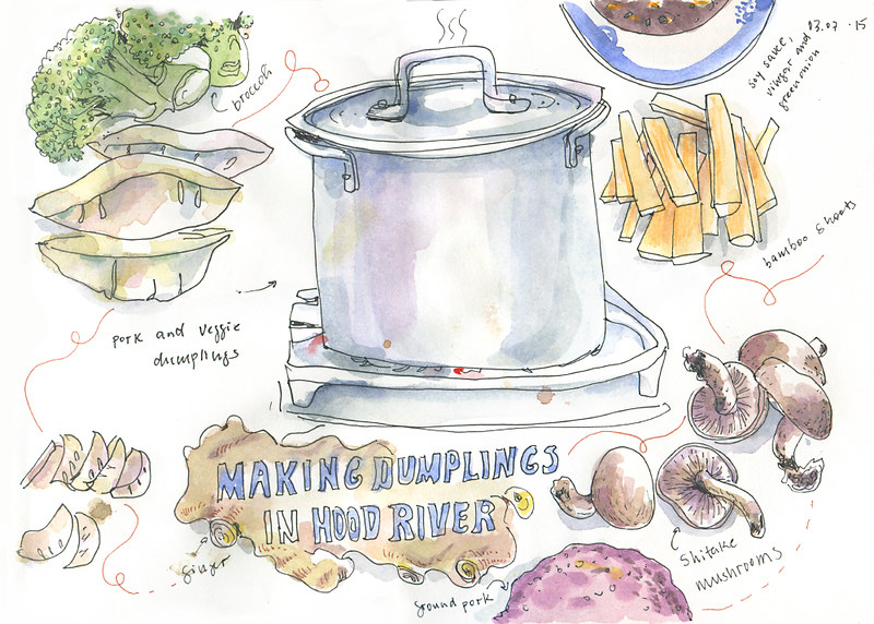 Making Dumplings: Ingredients
