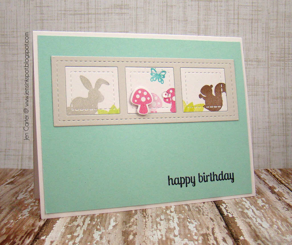 Jen Carter Whimsy Woodland Birthday Side