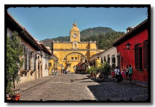 La Antigua GCA - Santa Catalina Arch 10