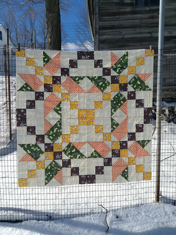 Star Jump Quilt by Jess of Elven Garden Quilts