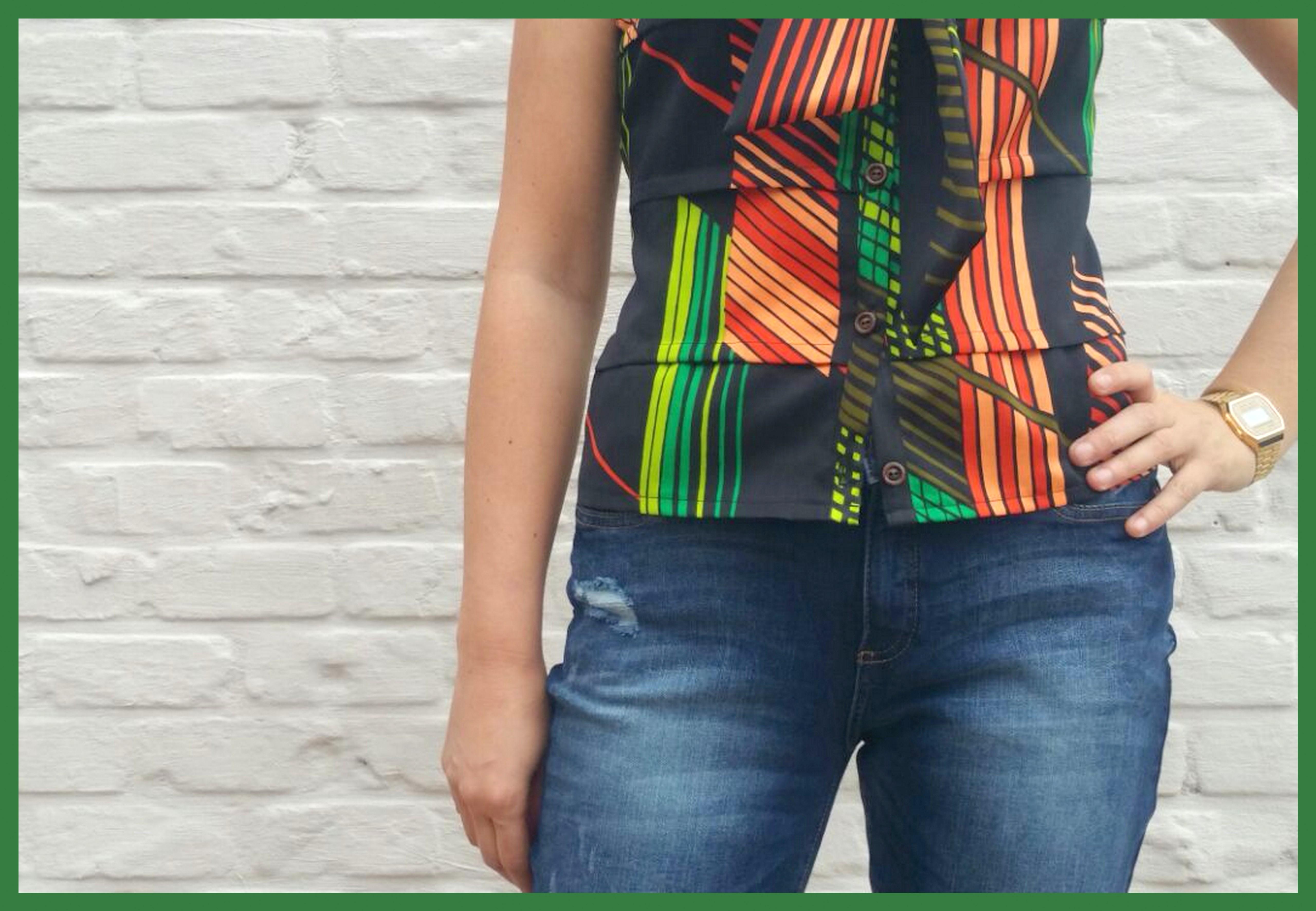 Atelier Assemblé blouse (jeans)