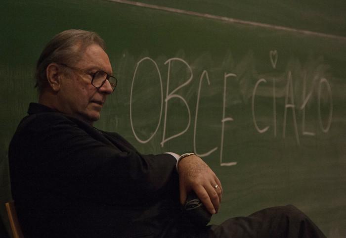 "Krzysztof Zanussi during presentation of his new film ""Obce ciało"" in Vienna"