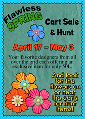 Flawless Spring Cart Sale 2015