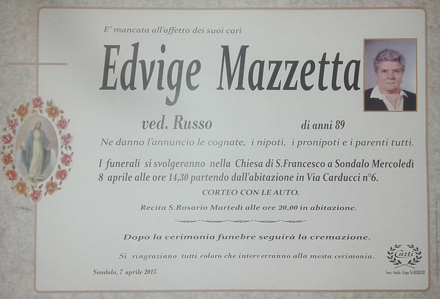 Mazzetta Edvige