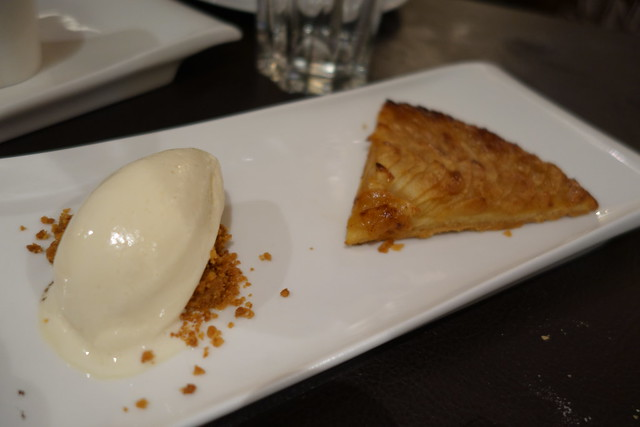 Thin Crispy Apple Tart at Shelter in the Woods