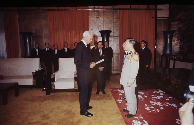 SAIGON April 5, 1967 -  Ellsworth Bunker, US Ambassador to South Vietnam (1967-1973) - by Co Rentmeester