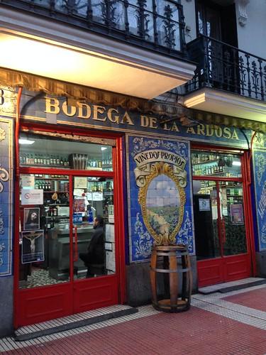 Bodega de La Ardosa, Santa Engracia. Chamberí. Madrid