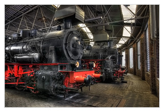 Bochum - Eisenbahnmuseum Dahlhausen Ringlokschuppen