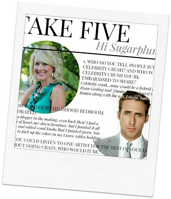 TAKE FIVE WITH HI SUGARPLUM