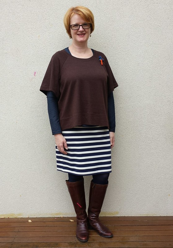 Aeolian tee in wool jersey