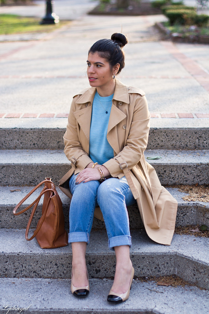 blue sweater, boyfriend denim, trench coat-7.jpg