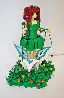 Lego Fairy Queen: (Lego Ideas Project)