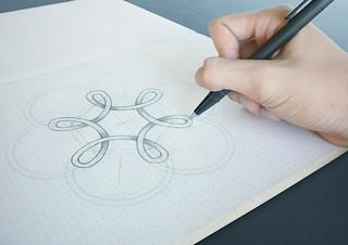 Sketches Logo Hong Phuc ICE
