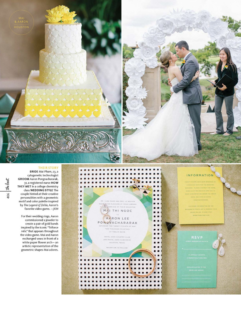 The Knot Texas Magazine - Mai + Aaron - Pg 2