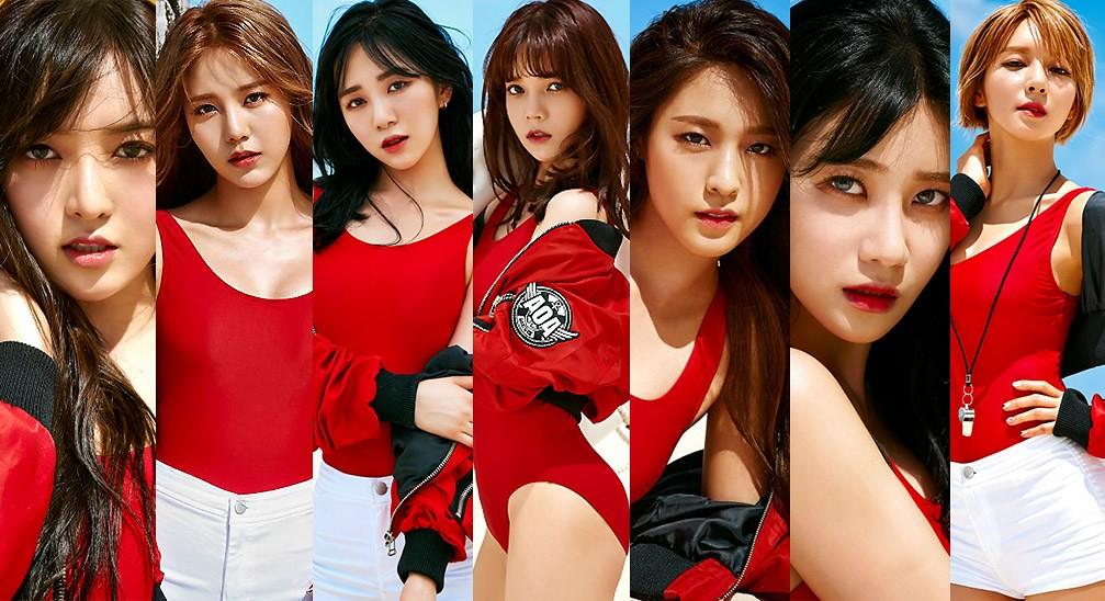 As meninas do AOA já estão no clima do verão no novo single Good Luck