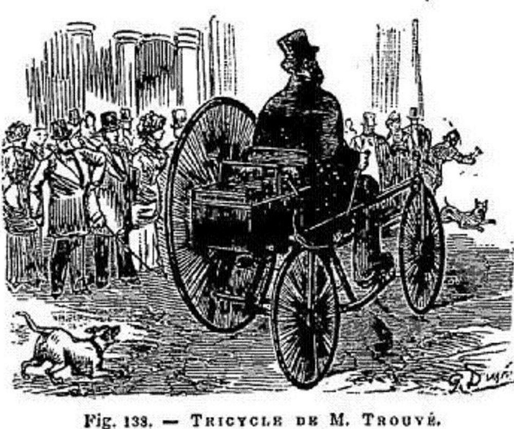 trouve tricycle