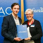ACUscholarship2016-177Owen Kelly and Prof. Karen Flowers