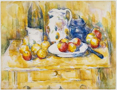 Still Life with Apples on a Sideboard