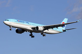 5 mars 2015 - KOREAN  AIR  LINES - Airbus  A 330-300   F-WWCY   msn 1611 - LFBO - TLS