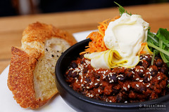 20150302-08-Black beans in tomato chutney at Tricy…