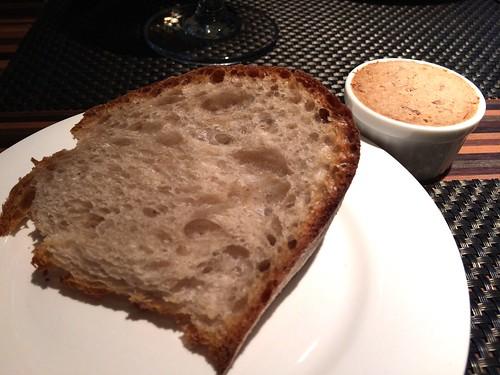焼きたてパンとリエット@エテ