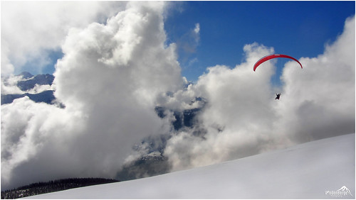 Into the clouds!