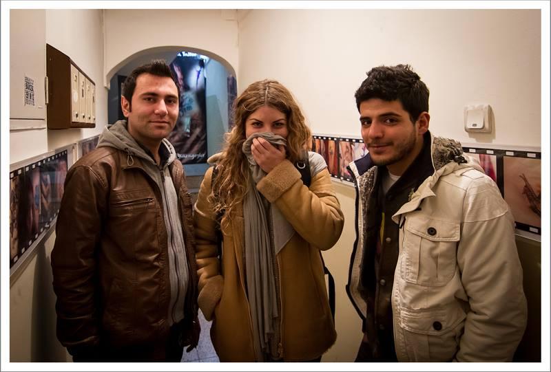Con Vindar y Khaled