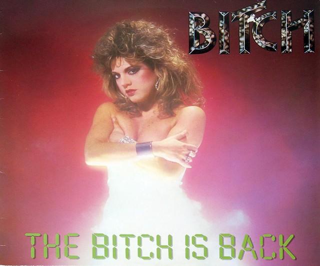 """BITCH THE BITCH IS BACK 12"""" Vinyl LP"""