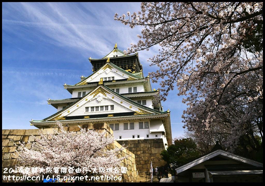 2014京都大阪賞櫻自由行-大阪城公園DSC_1789
