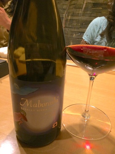 Maboroshi Pinot Noir Maboroshi vineyard Russian River Valley@瀧口