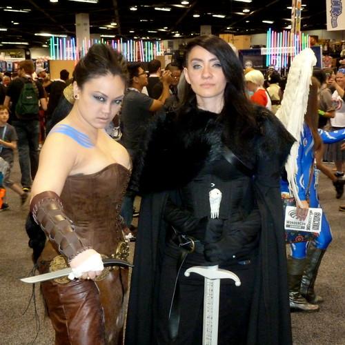 Khaleesi Drogo and Jeyne Snow