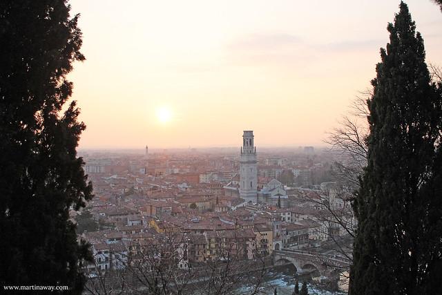 Vista dal Castello, Verona.