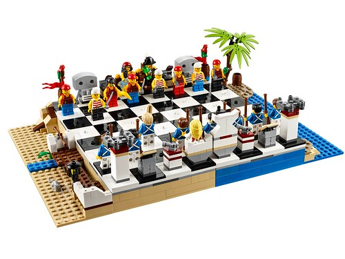 40158 LEGO Pirates Chess Set 01