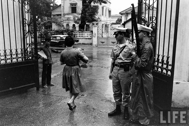 SAIGON 1961 - NAVFORV Headquarters Saigon - Photo by Bill Ray